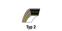 V-belts sorted by manufacturer